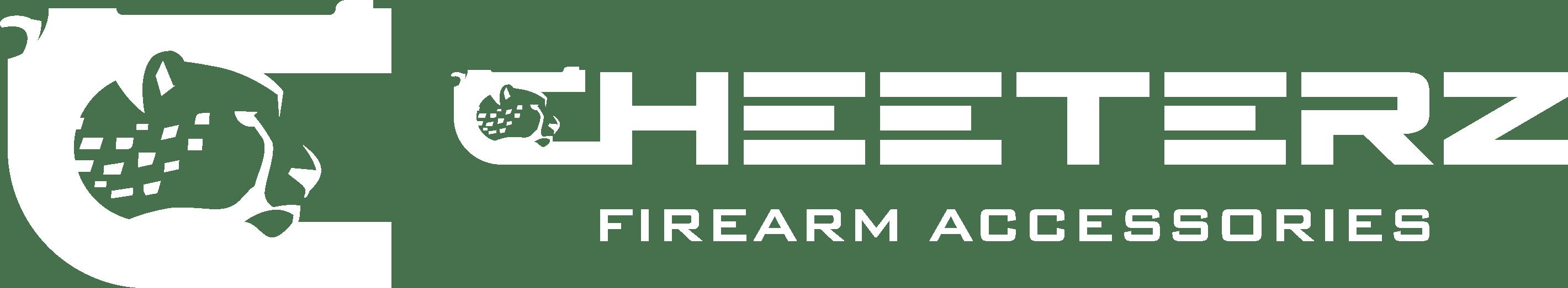 Cheeterz Firearm Accessories Logo White